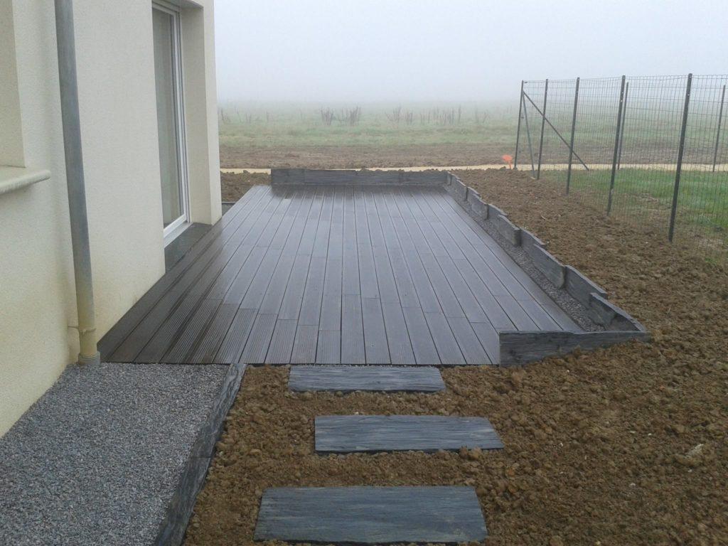 Terrasse bois par Entre Pierres et Vert